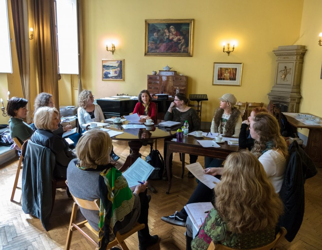 Florence Writers editing workshop - St Mark's English Church
