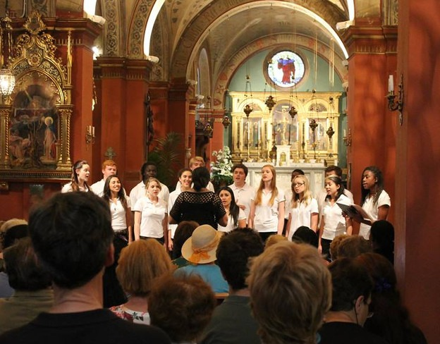 St Mark's in Florence, Italy makes an inspiring venue for concerts